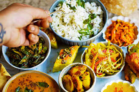 The Jamie Oliver Cookery School - North Indian Thali Cookery Course for Two - Save 0%