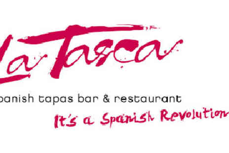 La Tasca - Three Course Meal with Wine for Two - Save 0%