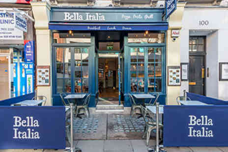 Bella Italia - Three Course Meal with Wine for Two - Save 0%