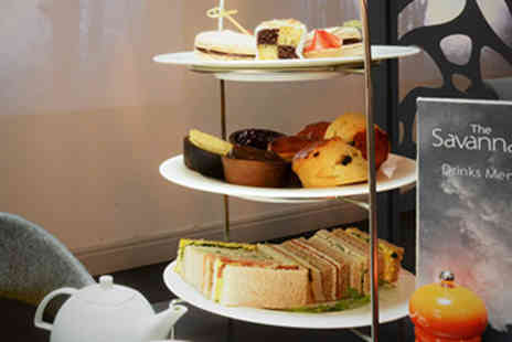The Savannah - Luxury Afternoon Tea for Two - Save 0%