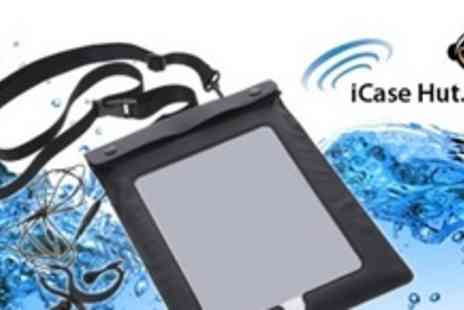 iCase Hut - Two Waterproof Case and Headphones For iPhone - Save 58%