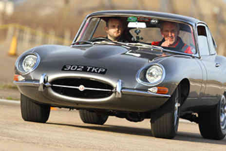 Hot Ride - 35% off E Type Jaguar Thrill - Save 35%