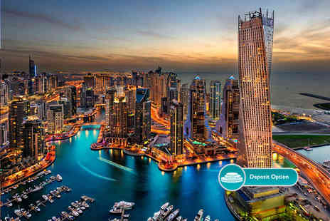 Crystal Travel - Nine night Dubai, Hong Kong and Bangkok escape with flights - Save 64%