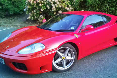 Golden Moments - 20 minute Ferrari driving experience for one person - Save 60%