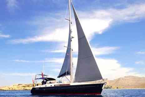 First Away Yacht Charters - Day Sailing or up to Two Night Yacht Trip with Qualified Sailor - Save 0%