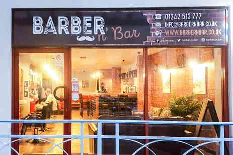 Barber N Bar - Wash, Cut, Wet Shave and Facial with Neck and Head Massage with a Dram of Whisky - Save 46%