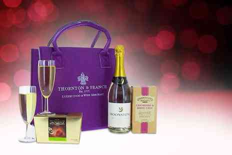First4Hampers - Valentines hamper for her including sparkling wine, truffles and more - Save 46%