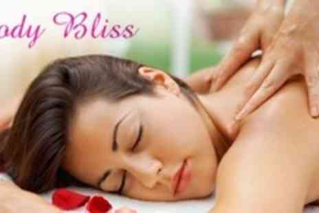 Body Bliss - Aromatherapy Massage For Back, Neck and Shoulders - Save 59%