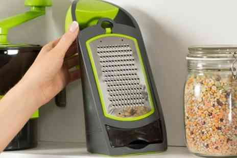 Groupon Goods Global GmbH - Tower T80420 Three in One Grater in Green - Save 56%