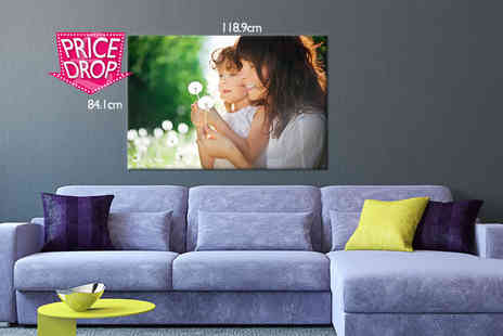 Your Perfect Canvas - A0 monster photo canvas upload your most cherished snap - Save 79%