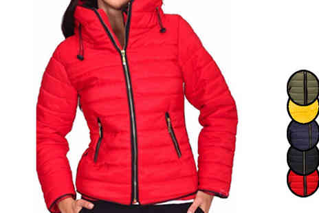 Jolimore - Ladies Quilted Jacket in 5 Colours - Save 0%