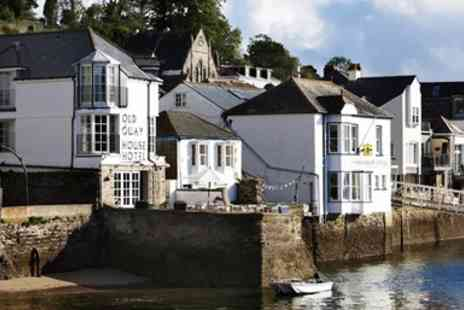 The Old Quay House Hotel - Boutique Fowey Stay with Meals - Save 45%
