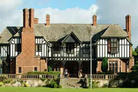 Inglewood Manor - Grade II Listed Cheshire Hotel Stay with Meals - Save 0%