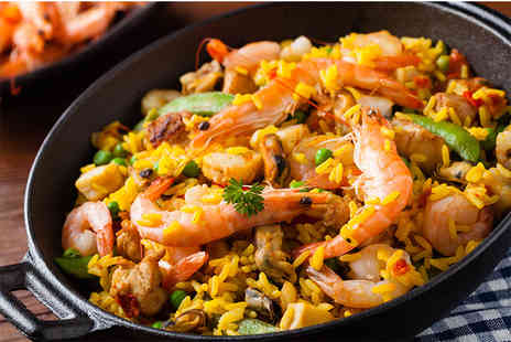 Mi Casa - Paella and sangria for two - Save 55%