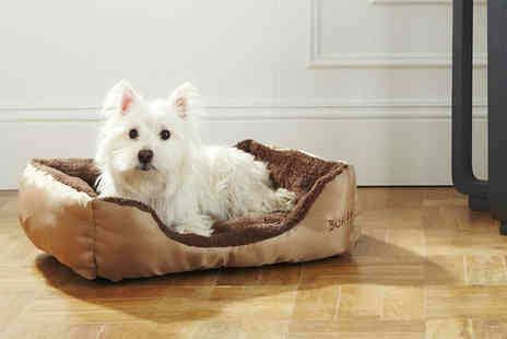 LaRoc - Small, medium, large deluxe dog bed - Save 40%