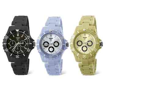 Fakurma - NY London chronograph style watch choose from six designs - Save 67%
