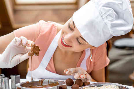 DeliCious Chocolate - Three hour chocolate making workshop for one - Save 52%