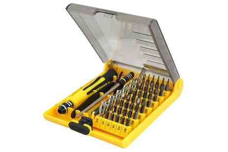 Groupon Goods Global GmbH - 45 in 1 Torx Precision Screwdriver Set - Save 78%