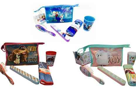 Groupon Goods Global GmbH - Childrens Disney Toiletry Travel Sets - Save 0%