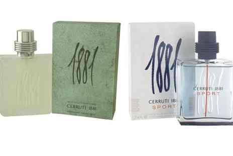 Groupon Goods Global GmbH - Cerruti 1881 Fragrance for Men in Choice of Scent - Save 25%