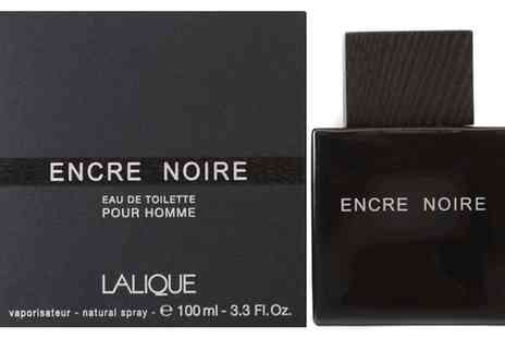 Groupon Goods Global GmbH - Lalique Encre Noir Pour Homme EDT 100ml With Free Delivery - Save 57%