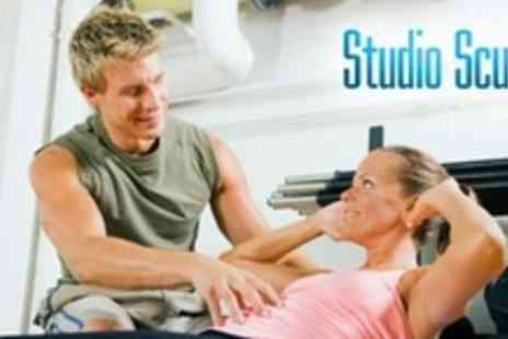 Studio Sculpt - Three 60 Minute Personal Training Sessions - Save 82%