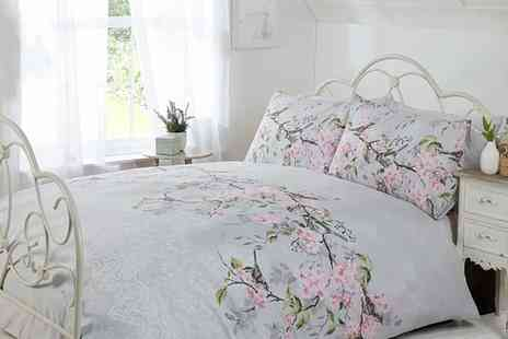 Groupon Goods Global GmbH - Eloise Duvet Set in Choice of Size and Colour - Save 67%