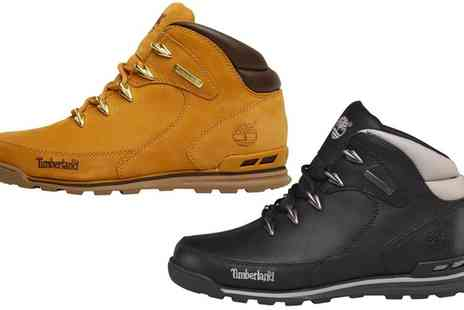 Groupon Goods Global GmbH - Timberland Euro Rock Mens Hiker Boots With Free Delivery - Save 45%