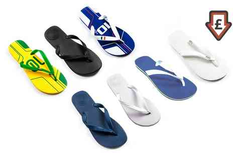 Groupon Goods Global GmbH - Unisex Dupe Flip Flops - Save 70%