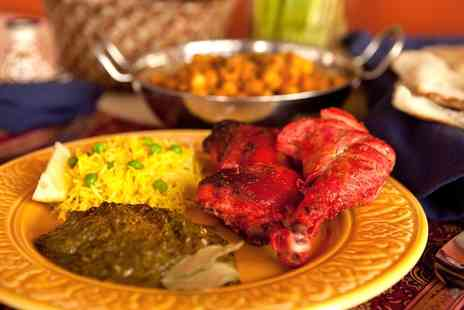 Shri Bheemas Indian Restaurant - Indian Buffet or Two Course Lunch for Two - Save 54%