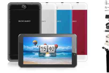 Groupon Goods Global GmbH - Kocaso Sofia 70 Seven Inch Android Tablet With Free Delivery - Save 0%