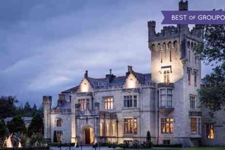 Solis Lough Eske Castle - Five Star 1 or 2 Nights Stay for Two with Breakfast, Dinner, Castle Tour and Leisure Access - Save 26%
