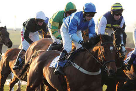 Sedgefield Racecourse - Horse Racing Day for Two - Save 50%