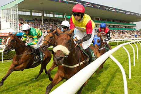 Uttoxeter Racecourse - Horse Racing Day for Two - Save 50%