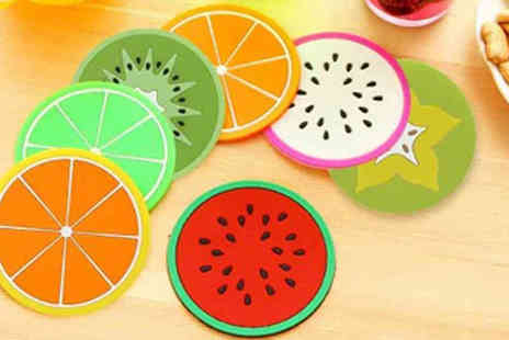 Richardson Group - Set of 7 Fruit Coasters in 7 Designs - Save 40%