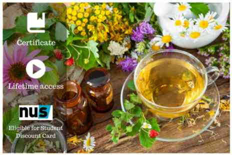 OfCourse - Herbalism remedy masterclass - Save 87%