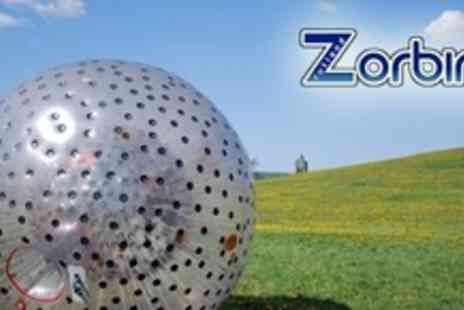 Rutland Zorbing - Zorbing Experience For Six - Save 50%