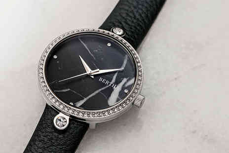 Idealdeal - Ladies Bertha Frances watch choose from five designs - Save 84%