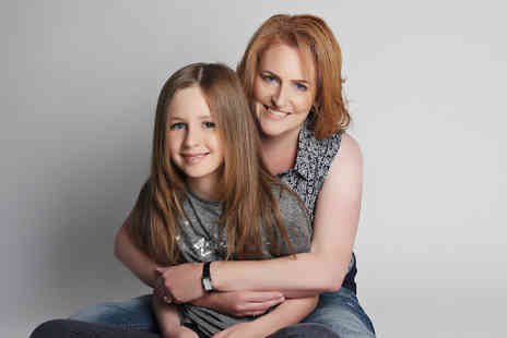 Love Exclusive Photography - Mother and daughter photoshoot including a MAC makeover, Prosecco, two prints and afternoon tea - Save 70%