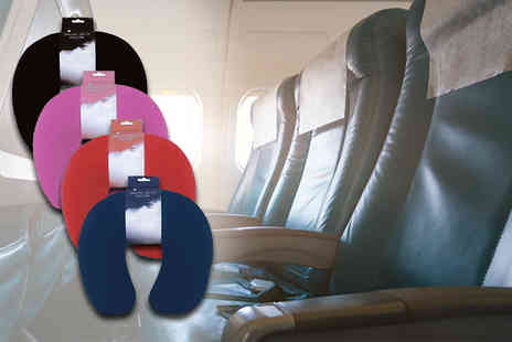 ViVo Technologies - Extra comfy soft neck pillow for plane travel - Save 72%