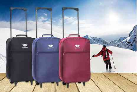 Karabar - Cabin approved Slimbridge Barcelona bag choose from three colours - Save 58%