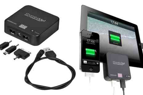 Groupon Goods Global GmbH - Thumbs Up Dual Power Bank Dual Charger - Save 75%