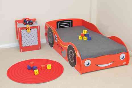 Groupon Goods Global GmbH - Racing Car Childrens Furniture With Free Delivery - Save 0%