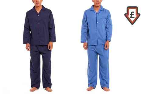 Groupon Goods Global GmbH - Mens Pyjamas in Choice of Colours - Save 0%