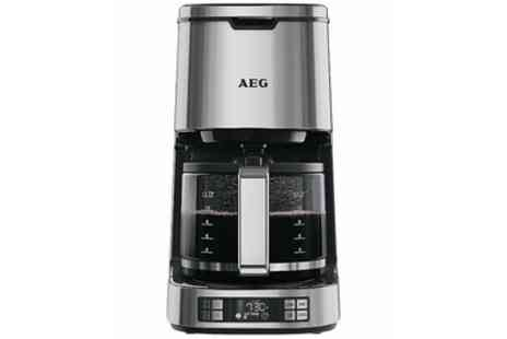 Groupon Goods Global GmbH - AEG KF7800 Digital Filter Coffee Machine With Free Delivery - Save 12%