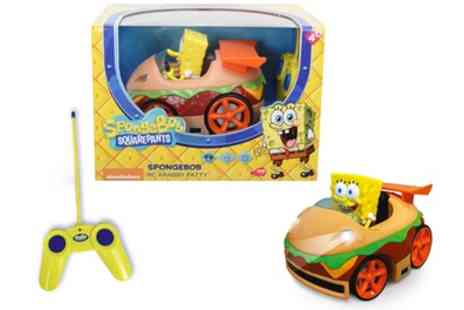 Groupon Goods Global GmbH - SpongeBob Krabby Patty RC - Save 0%
