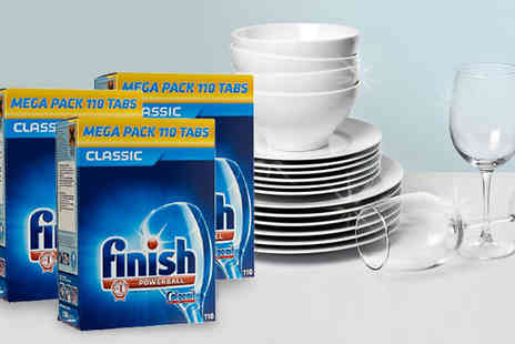 J & Y - 330 or 440 Finish Classic Powerball Dishwasher Tabs - Save 70%