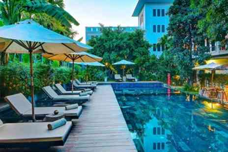 La Residence Blanc D Angkor - Three Night Stay in Siem Reap including Temple Tour - Save 23%