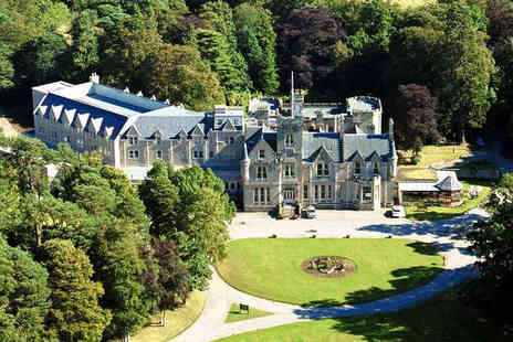 ClearSky Holidays - Overnight 4 Star Scottish Highlands castle escape with breakfast and flights - Save 40%