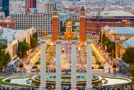 Worldwide Tours & Travel - Two or three night 4 Star Barcelona spa break including flights - Save 56%